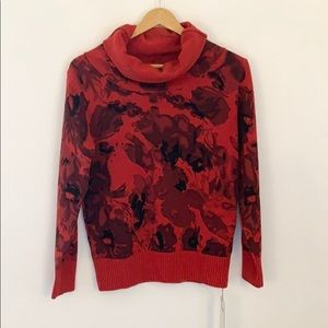 Sweaters - Cashmere Wool Blend Turtleneck Sweater